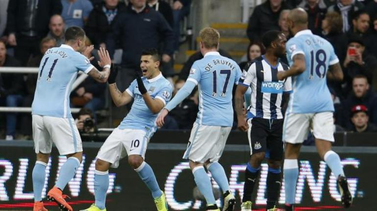Manchester City Tertahan di St James' Park