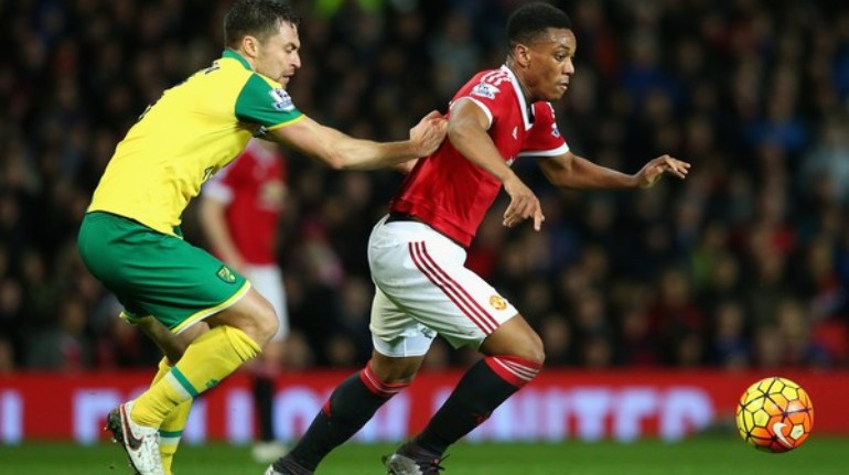 Norwich City vs Manchester United