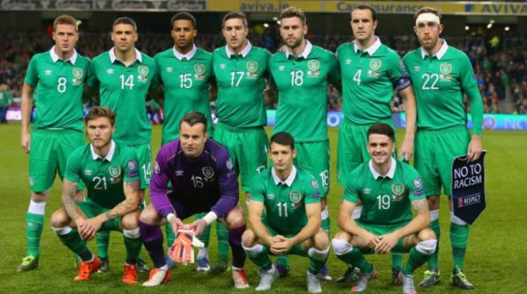 Republik Irlandia vs Swedia