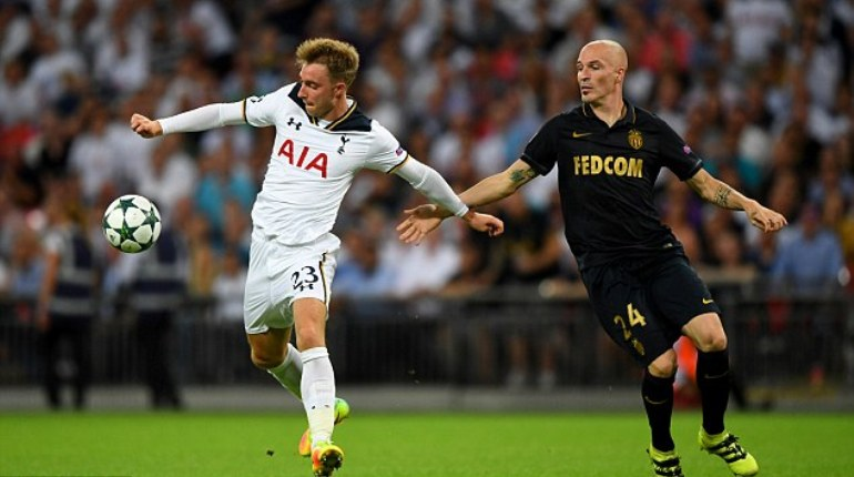 AS Monaco vs Tottenham Hotspur