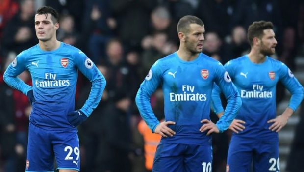 Arsenal Takluk Di Kandang Bournemouth