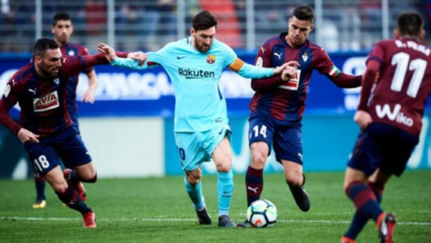 Barcelona Amankan Point Dari Eibar