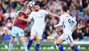 Chelsea 2 Striker Tumbangkan Burnley